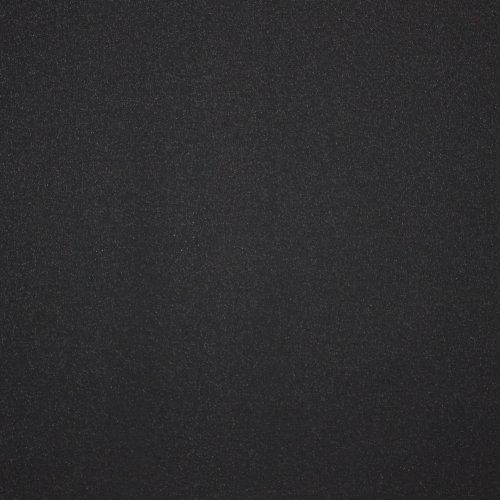 zwarte stretchstof met glitter