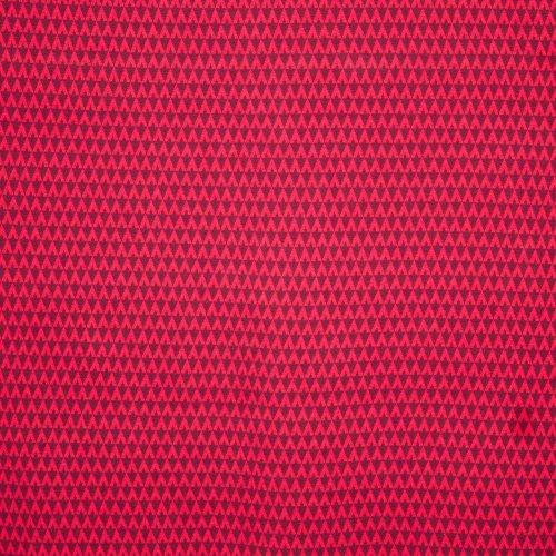 Jacquard Triangle Dark Red