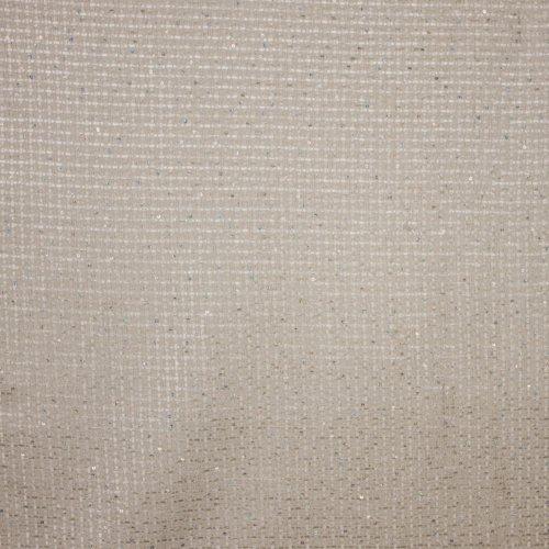 Witte Chanelstof met glitterpalletjes