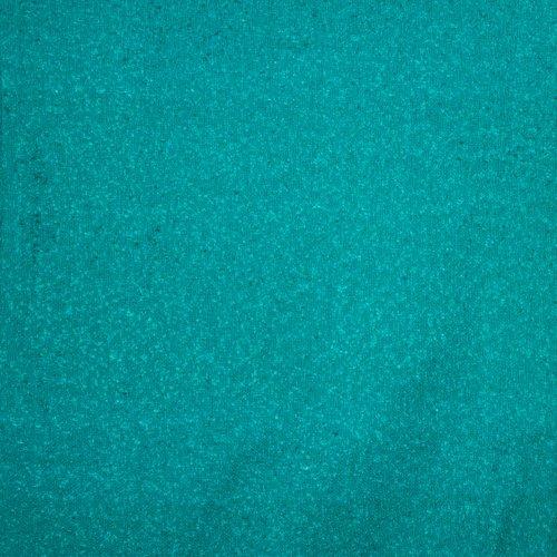 Turquoise chanelstof