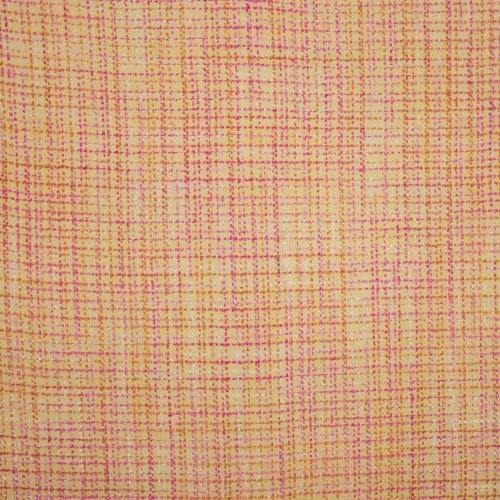 Chanelstof in geel-rood tinten