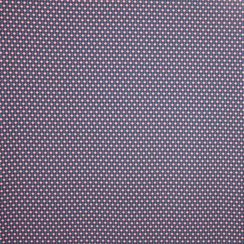 Katoen tricot jeansblauw fantasie