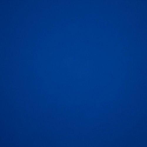 Blauwe effen sweaterstof van de collectie Solid as a rock van Chat chocolat