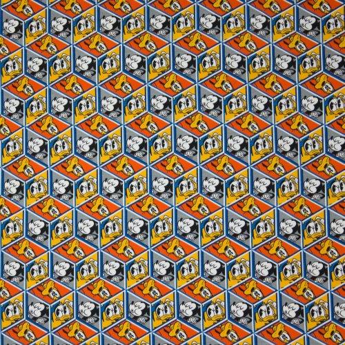 Tricot geometrisch licentie Disney Mickey