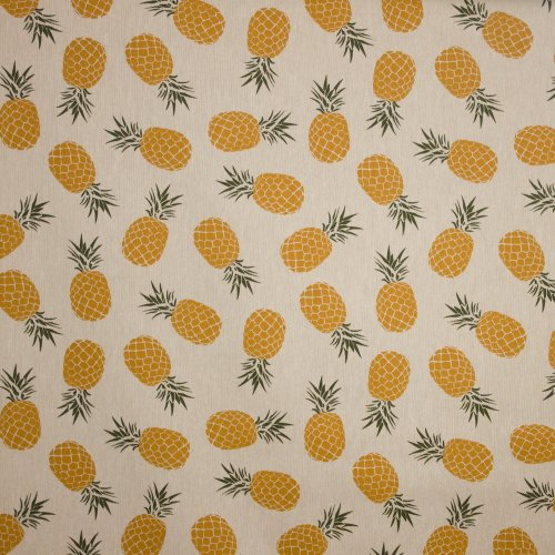 Canvas met ananas motief